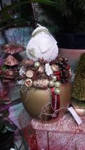 Karácsonyi asztalidísz