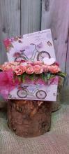 Selyem virágos box
