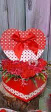 Valentín napi polifoam rózsabox