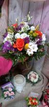 Élővirág csokor