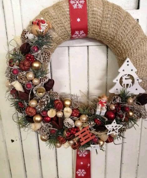 Karácsonyi kopogtató