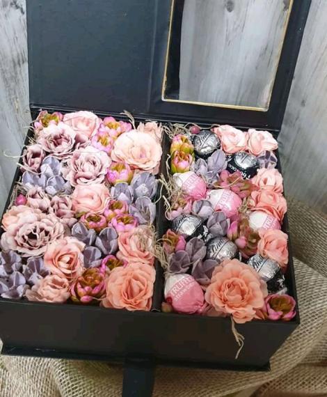 Polifoam rózsa box
